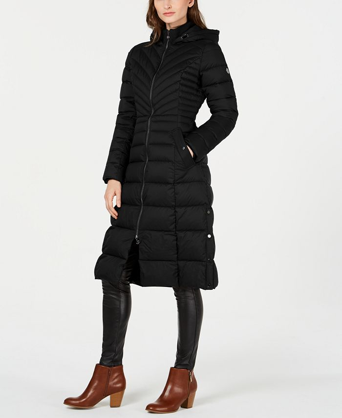 Bernardo - Hooded Packable Puffer Coat