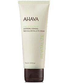 Ahava Extreme Firming Neck & Décolleté Cream, 2.5-oz.