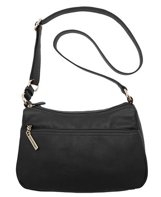 Giani Bernini Nappa Leather Double Entry Hobo