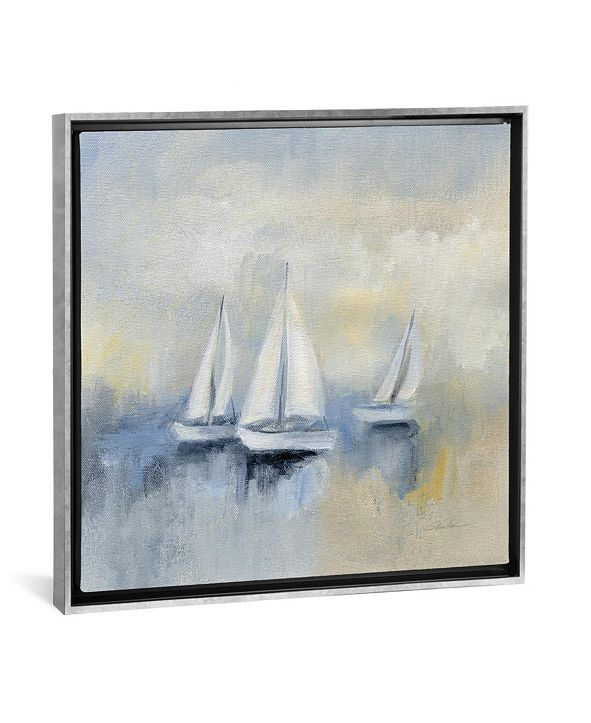 "iCanvas Morning Sail by Silvia Vassileva Gallery-Wrapped Canvas Print - 18"" x 18"" x 0.75"""
