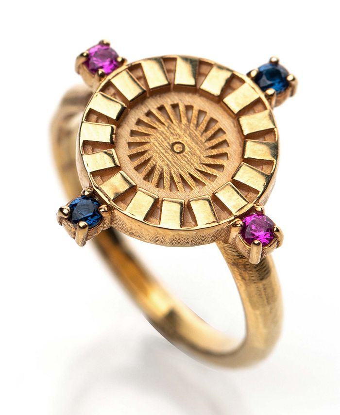 Honey Minx - Radiant Sun Signet Ring