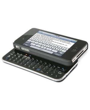 ION Audio ITYPE SLIDE, Sliding Bluetooth Keyboard Case for iPhone4 and iPhone 4S