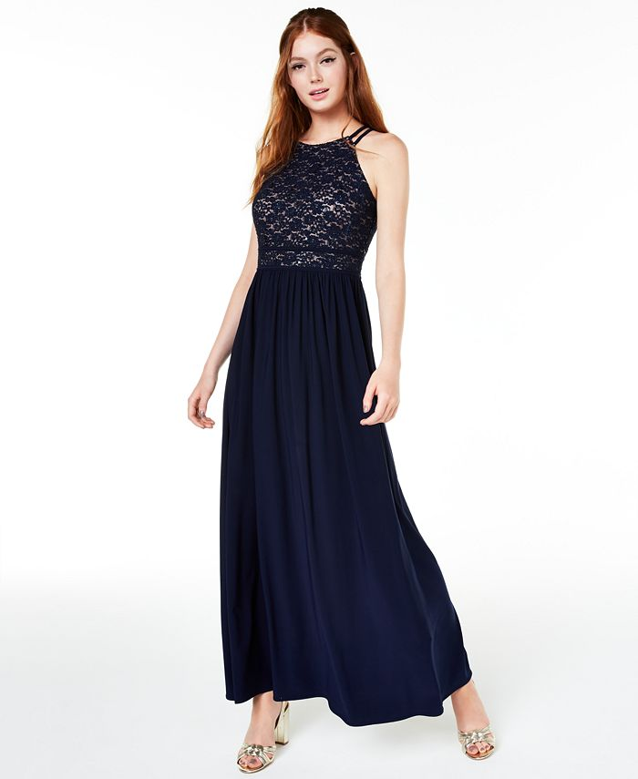 Nightway - Lace-Top Gown