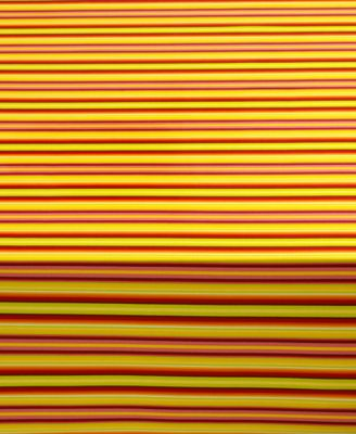 "Fiesta Table Linens, Calypso Stripe Sunflower 52"" x 70"" Tablecloth"