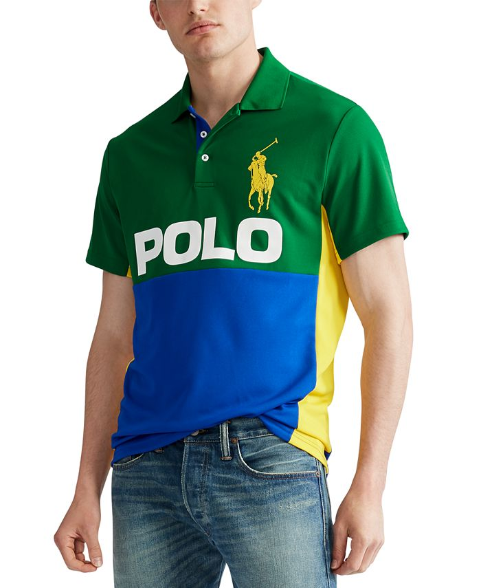 Polo Ralph Lauren Men's Performance Piqué Polo Shirt & Reviews ...