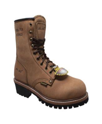 Water Resistant Steel Toe Logger Boot
