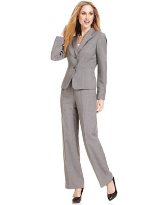 Kasper Petite Grey Suit Separates Collection Wear To
