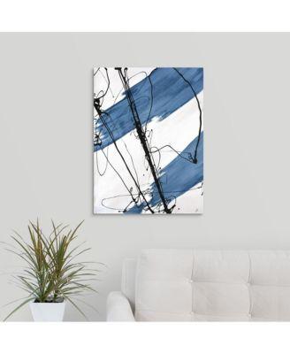 'Adaptation I' Framed Canvas Wall Art, 18