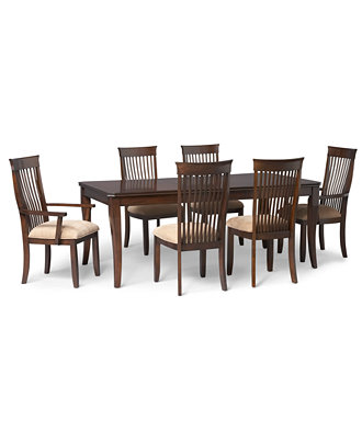 Augusta 7 Piece Dining Room Furniture Set Furniture Macy 39 S