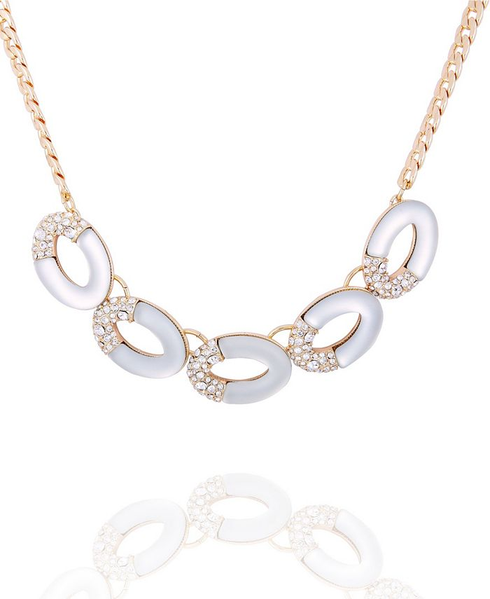T Tahari - Frosted Lucite Statement Necklace