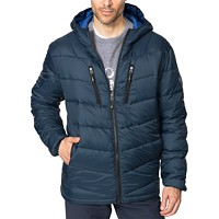 Deals on Hawke & Co. Outfitter Mens Packable Chevron Parka