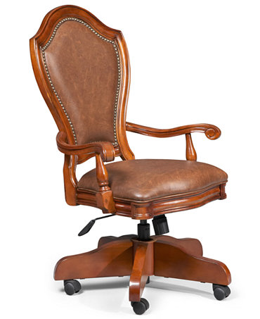 Grandview Home Office Chair, Swivel - Furniture - Macy's