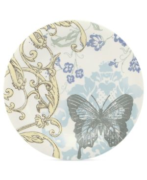 Closeout! Lenox Dinnerware, Collage by Alice Drew Hummingbird Accent Plate