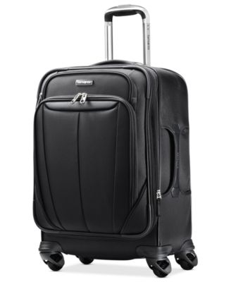 """CLOSEOUT! Samsonite Silhouette Sphere 21"""" Carry On Expandable Spinner Suitcase"""