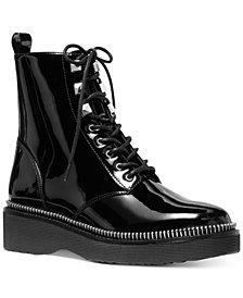 Michael Michael Kors Haskell Combat Lug Sole Boots