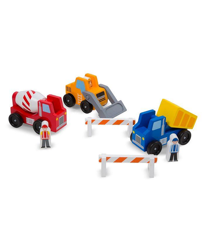 Melissa and Doug - Construction Vehicle Set