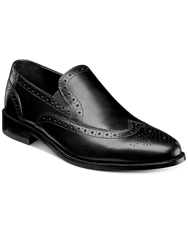 Nunn Bush Men's Norris Wingtip Loafers