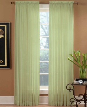 "miller curtains window treatments, preston rod pocket 51"" x 95"" panel bedding"