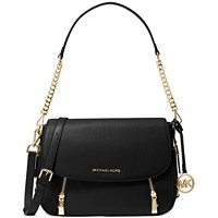 Deals on Michael Kors Bedford Legacy Leather Flap Shoulder Bag