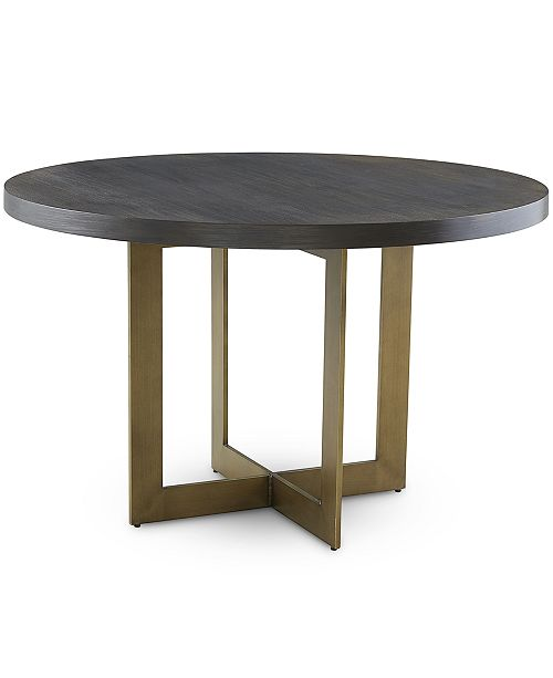 Furniture Cambridge Round Dining Table Created For Macy S Reviews Furniture Macy S