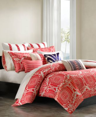 Trina Turk Trellis Coral Comforter and Duvet Cover Sets