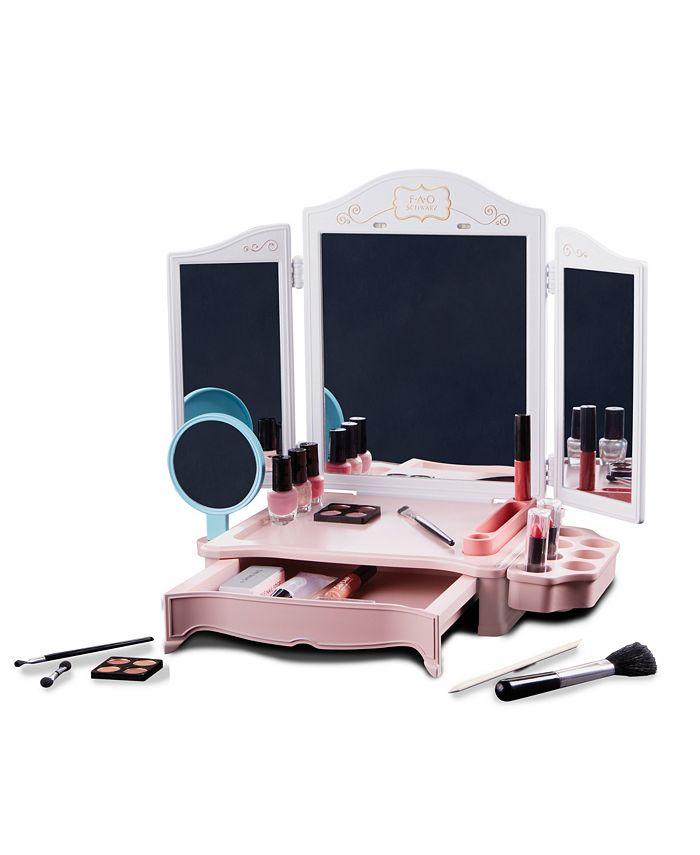 FAO Schwarz - Girls Vanity Makeup Studio