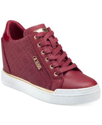 GUESS Women's Flowurs Wedge Sneakers