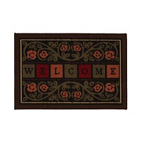 Ottomanson Ottohome Rubber Back Welcome Doormat 20x30-in Deals