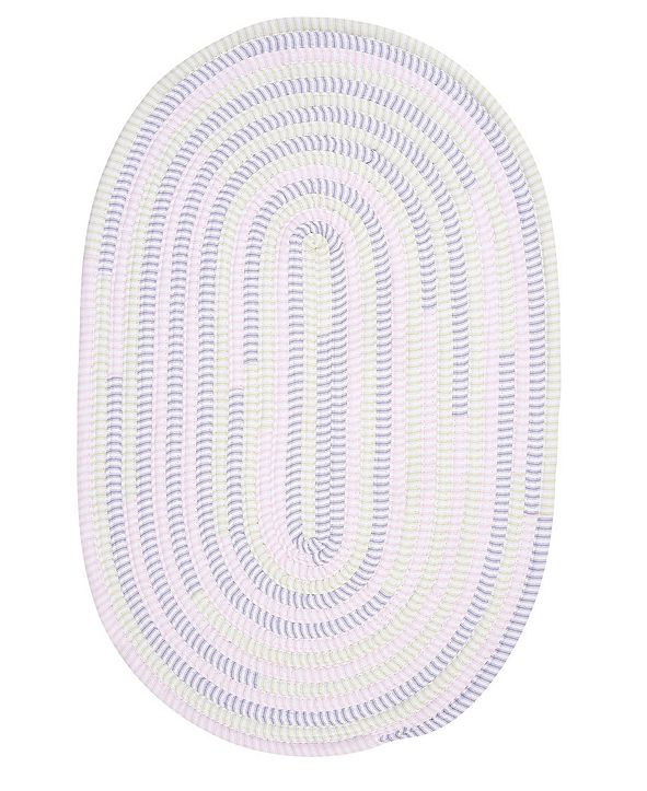 Colonial Mills Ticking Stripe Oval Dreamland 2' x 3' Accent Rug
