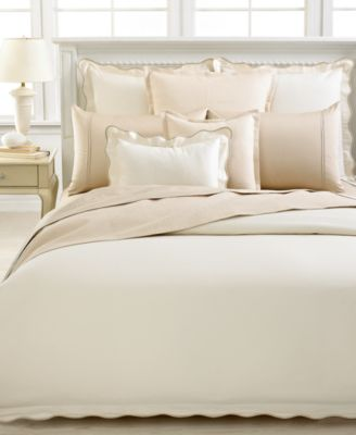 barbara barry peaceful pique king duvet cover bedding - Barbara Barry Bedding