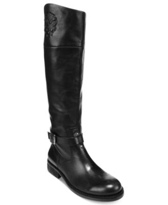 vince camuto bedina wide calf knee high boots shoes macy s