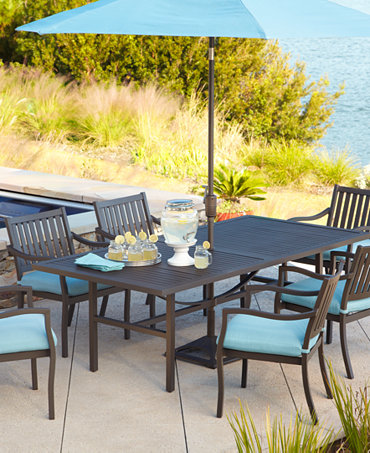 Commacys Outdoor Furniture : ... Outdoor Patio Furniture Dining Sets & Pieces - Furniture - Macys