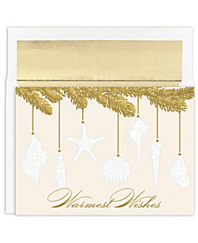 Masterpiece Studios Shell Ornament Holiday Boxed Cards