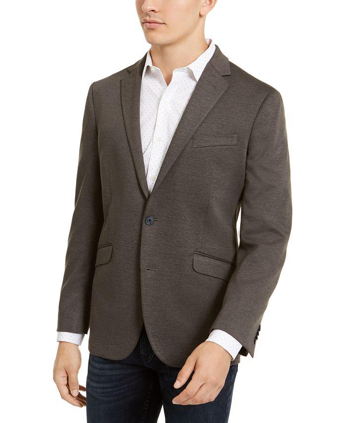 Kenneth Cole Reaction - Men's Slim-Fit Stretch Knit Sport Coat