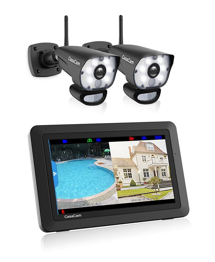 CasaCam - Video Home Surveillance Kit With LED Spotlight