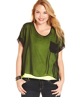 Macy Plus Size Fashion Australia Trendy Plus Size Tee's