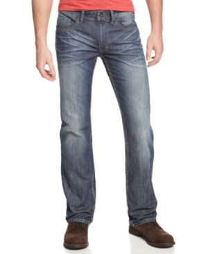 Buffalo David Bitton Jeans, Driven New Rail Straight Fit Jeans