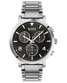 BOSS Men's Chronograph Spirit Stainless Steel Bracelet Watch 41mm
