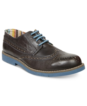 Steve Madden Mens Shoes Jazzman Wingtip Oxfords Mens Shoes