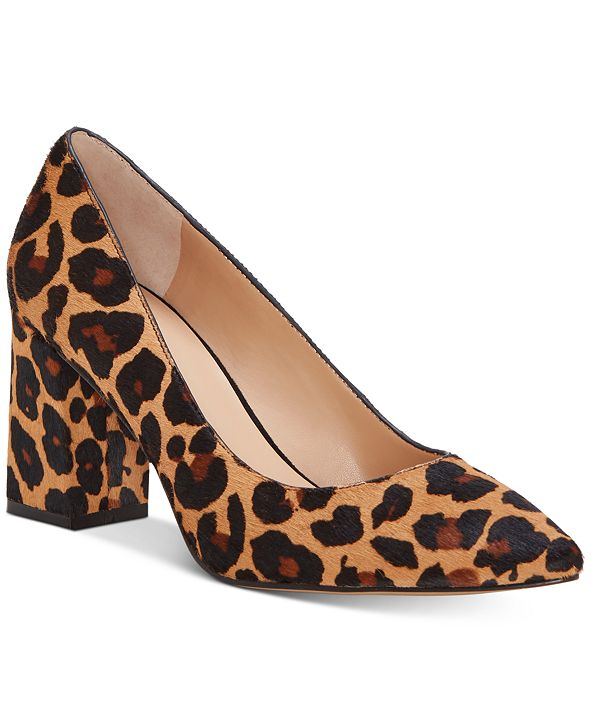 INC International Concepts INC Bahira Block-Heel Pumps, Created for Macy's