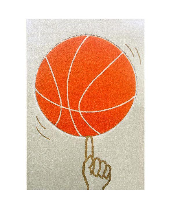 IVI Kids Basketball Area Rug