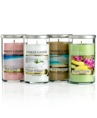 CLOSEOUT! Yankee Candle, Spring Scents Pillar Collection