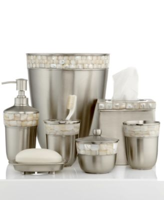 Paradigm Bath Accessories, Opal Satin Copper Canister