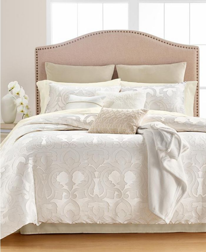 Martha Stewart Collection - Chateau Antique Filigree 14-Pc. Queen Comforter Set, Created for Macys