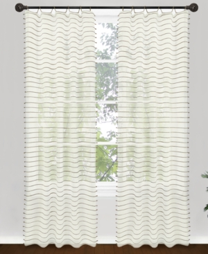 "park b. smith window treatments, jordan 40"" x 84"" panel bedding"