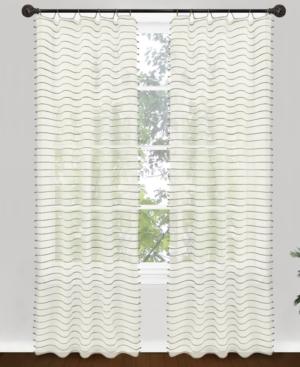 "park b. smith window treatments, jordan 40"" x 84"" panel bedding"