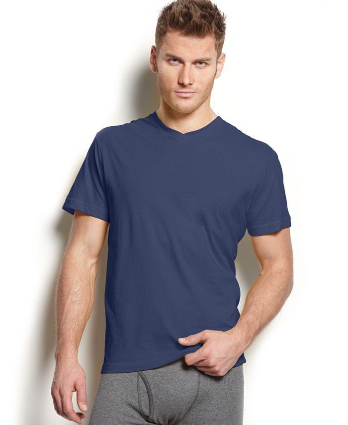 Alfani - Men's V-Neck Undershirts, 4-Pack