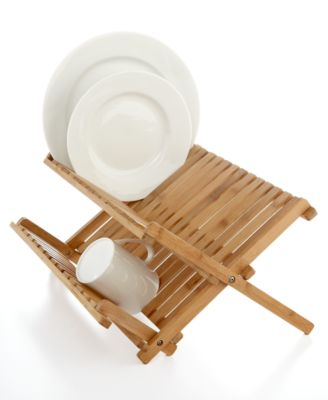 Martha Stewart Collection Dish Rack, Bamboo