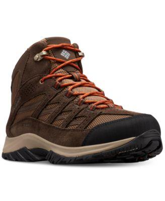 Waterproof Mid-Height Hiking Boots \u0026