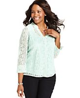 Trendy Plus-Size Top